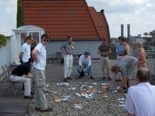 2005: Wissensbildung bei der Gründungsveranstaltung von Procedere...